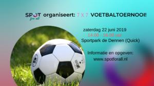 Spot for all homo lesbisch voetbaltoernooi sport Nijmegen